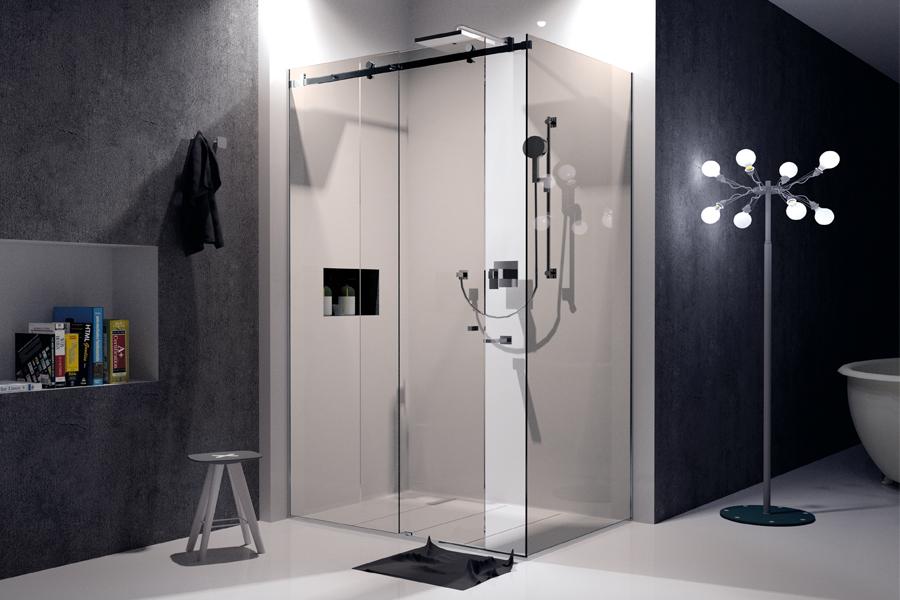 Cabina doccia scorrevole modello Sn